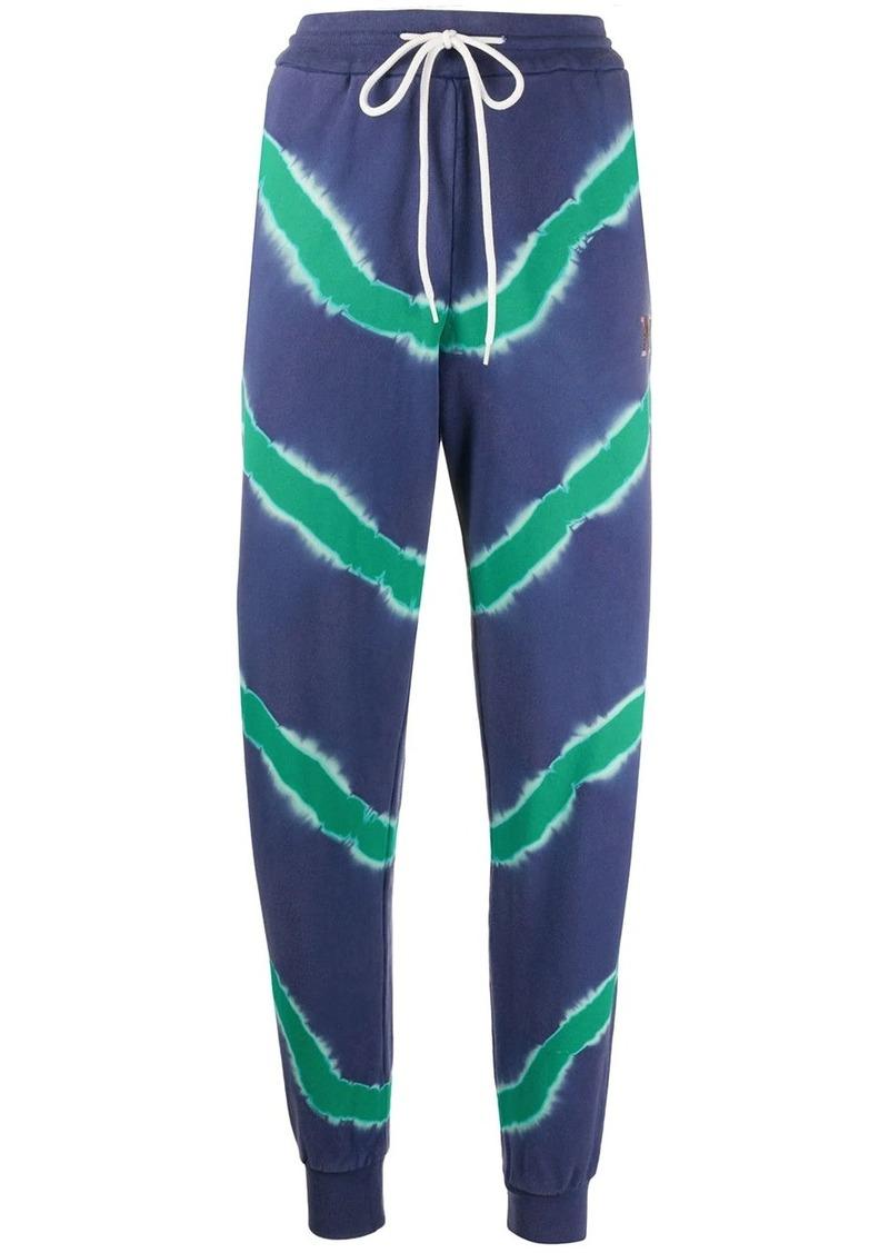 M Missoni tie dye track trousers