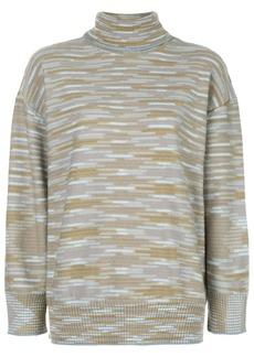 M Missoni turtleneck striped jumper