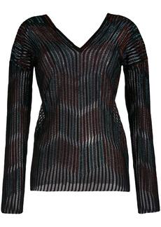 M Missoni v-neck sweatshirt