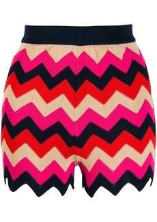 M Missoni zig-zag knit shorts