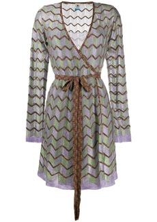 M Missoni zig-zag pattern dress