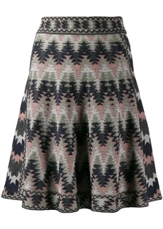 M Missoni zig zag pattern skirt