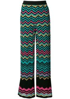 27df57bd54624 M Missoni zig-zag patterned trousers