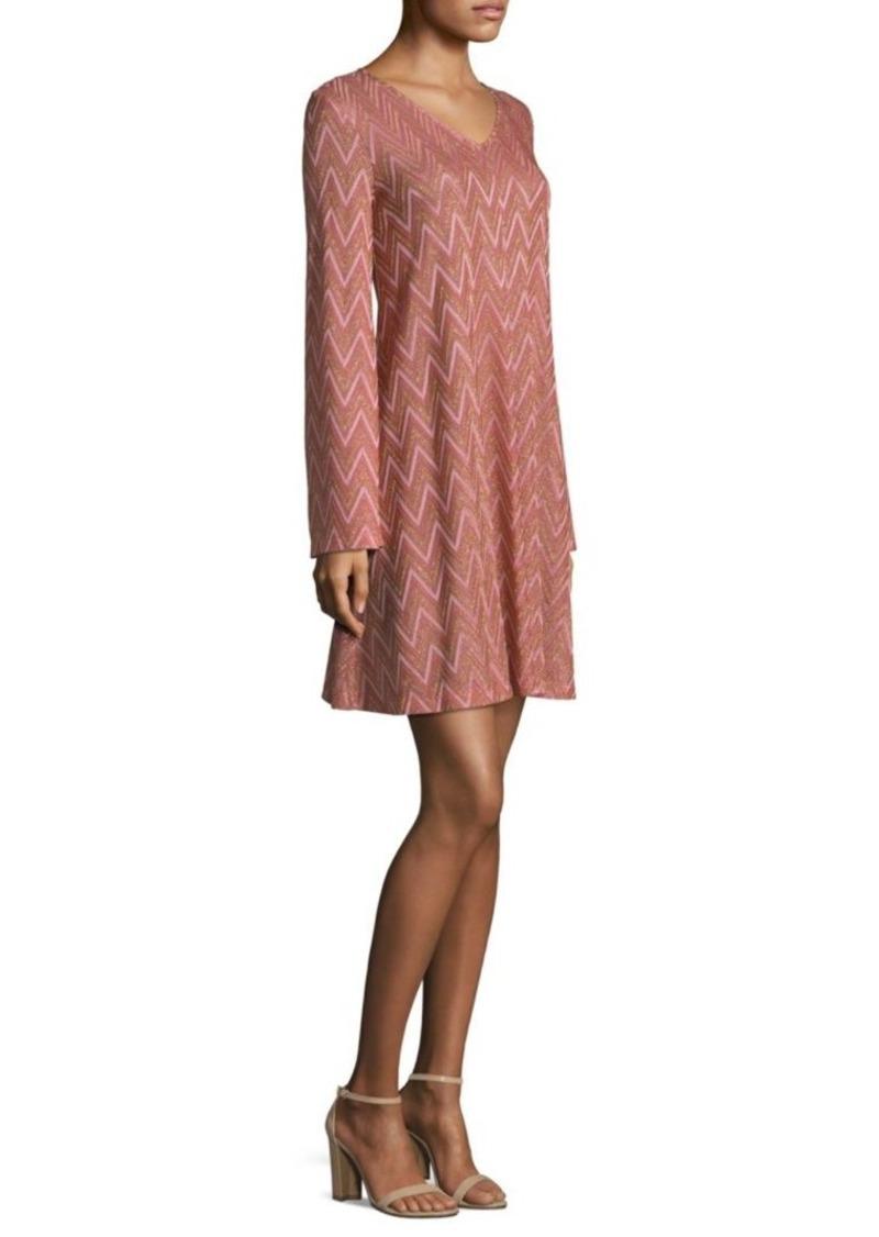M Missoni Zigzag A-Line Dress