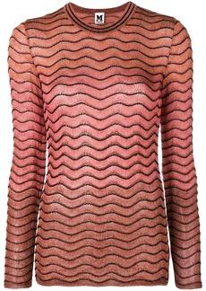M Missoni zigzag pattern jumper