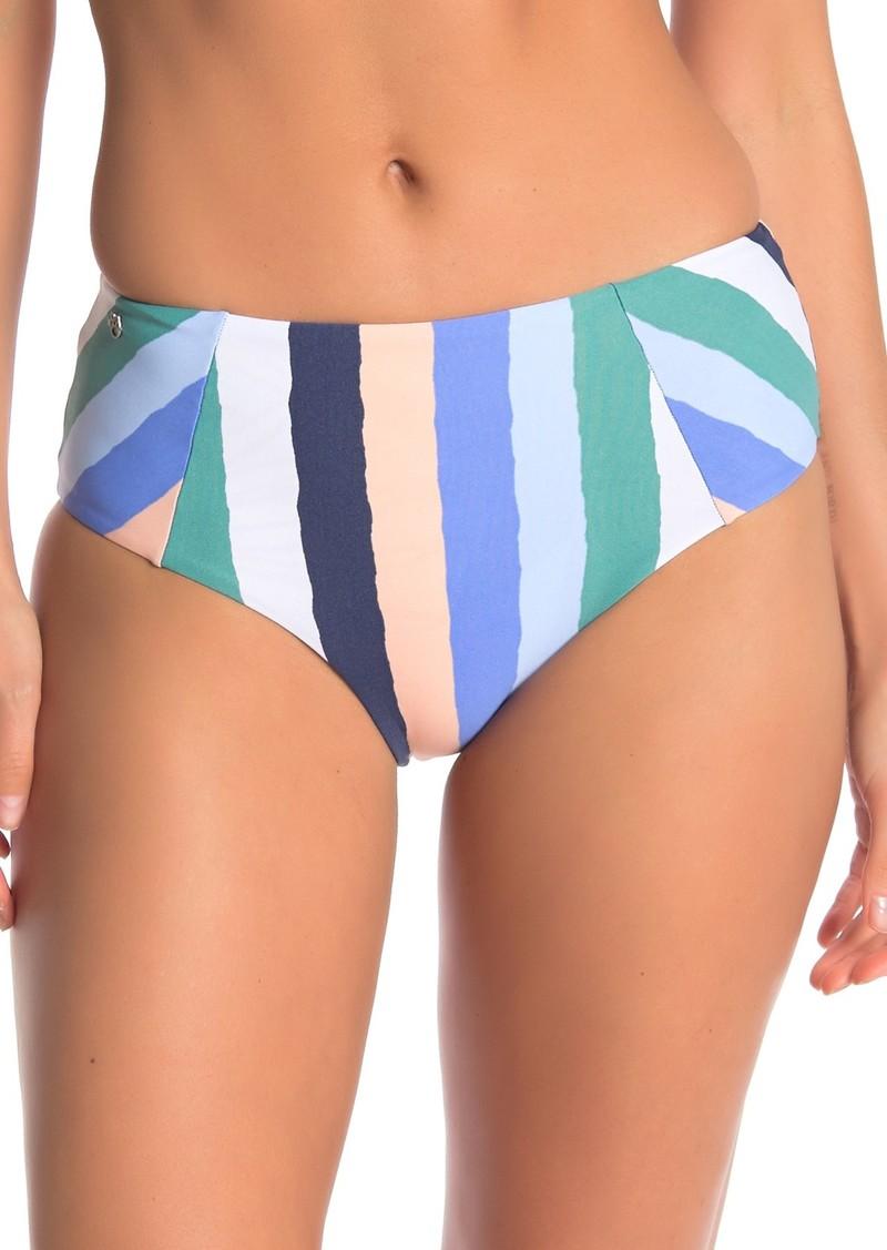 Maaji Atlantic Avenue Cheeky High Waist Bikini Bottom