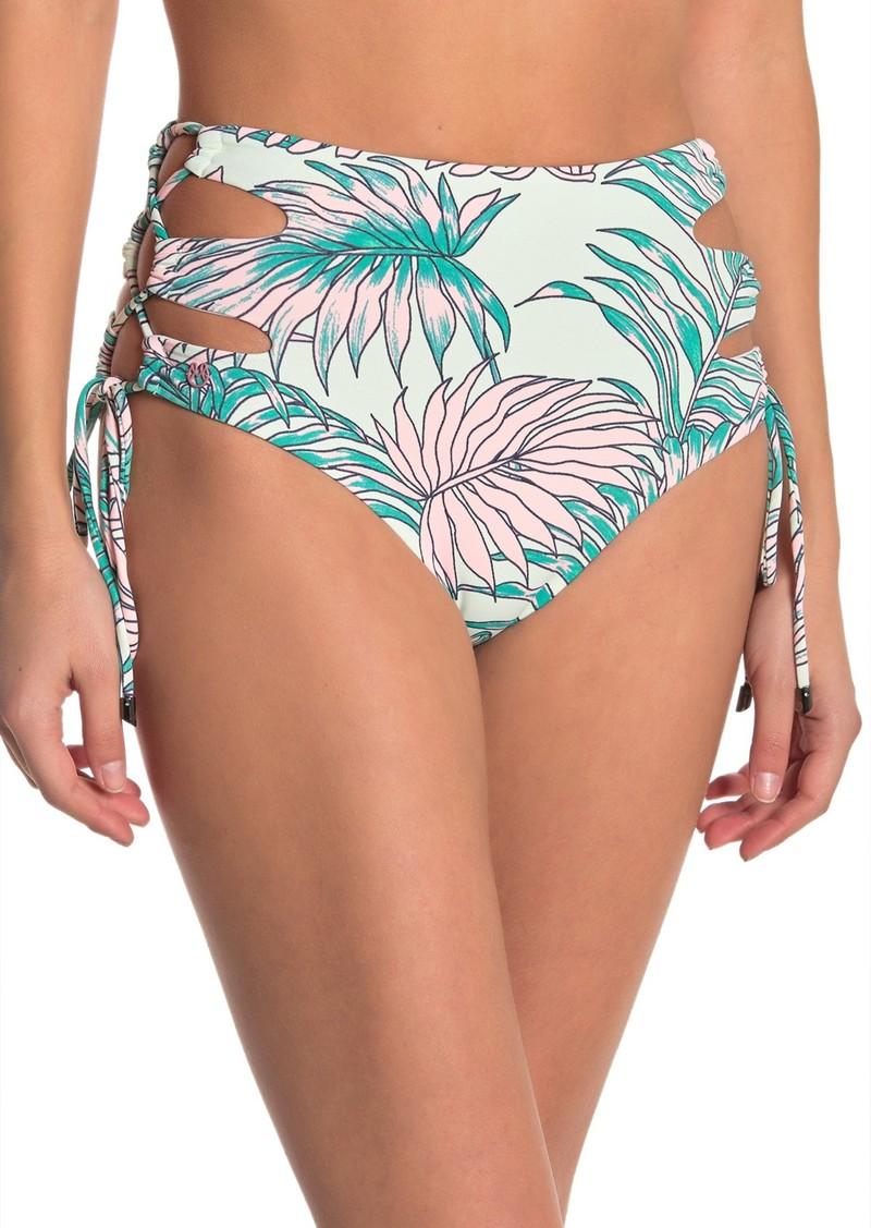 Maaji Bahamas Sunset High Waist Reversible Bikini Bottoms