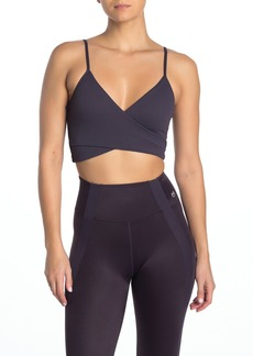 Maaji Crossed Mulberry Reversible Medium Impact Sports Bra