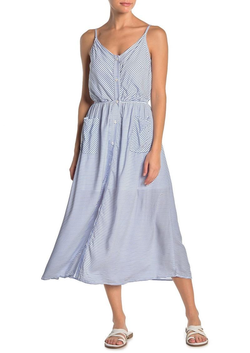 Maaji Crystal Clear Striped Maxi Dress