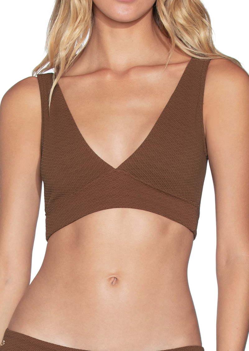 Maaji Allure Texture 4-Way Reversible Bikini Top