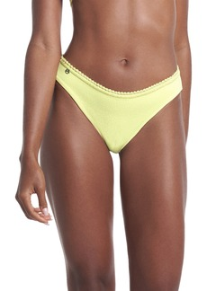 Maaji Butter Yellow Sublimity Reversible Bikini Bottoms