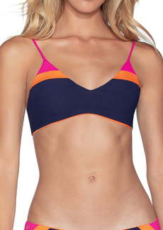 Maaji Caribe Rocks Reversible Bralette Bikini Top