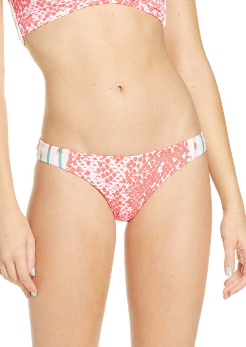 Maaji Jezebel Docks Signature Cut Reversible Bikini Bottoms