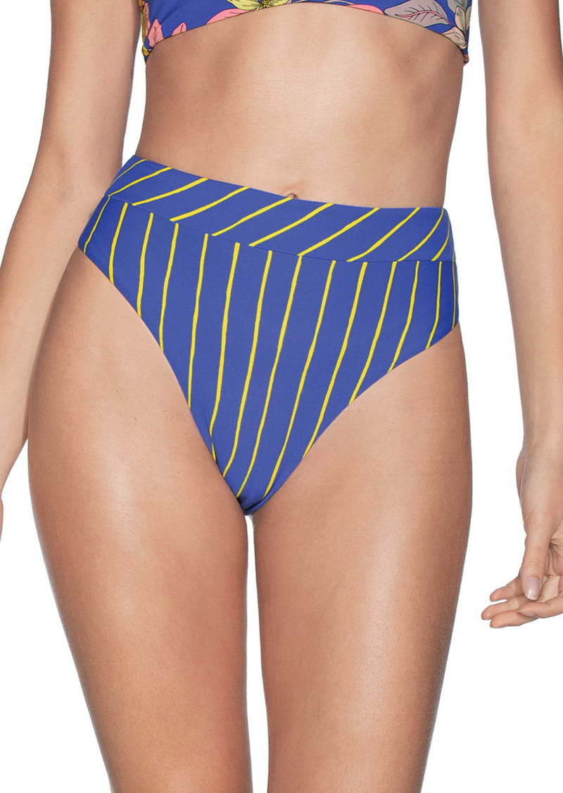 Maaji Lorelei Suzy Q Reversible High Waist Bikini Bottoms