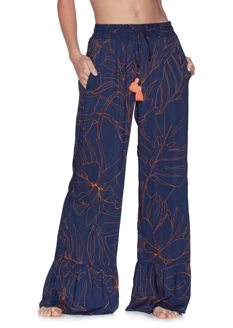 Maaji Ocean Blue Wide Leg Cover-Up Pants