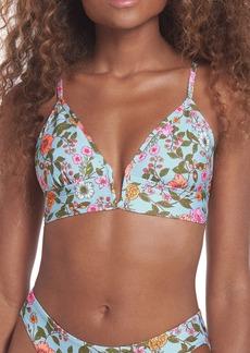 Maaji Windflower Stories Parade Reversible Bikini Top