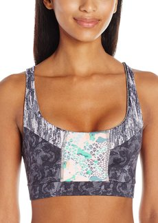 Maaji Women's Air Glam Ebb-n-Flow Yoga Sports Bra  L
