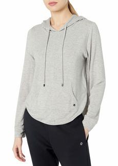 Maaji Women's Long Sleeve Hooded Pullover Sweatshirt with Racerback