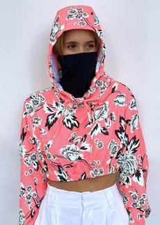 Maaji Women's Protective Long Sleeve Jacket with Built in Mask
