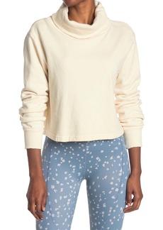 Maaji Thrive Ivory Turtleneck Sweatshirt