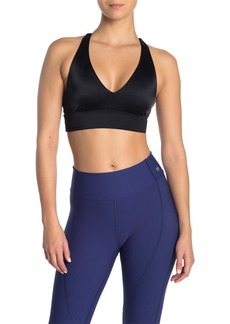 Maaji Whispering Black Racerback Reversible Sports Bra
