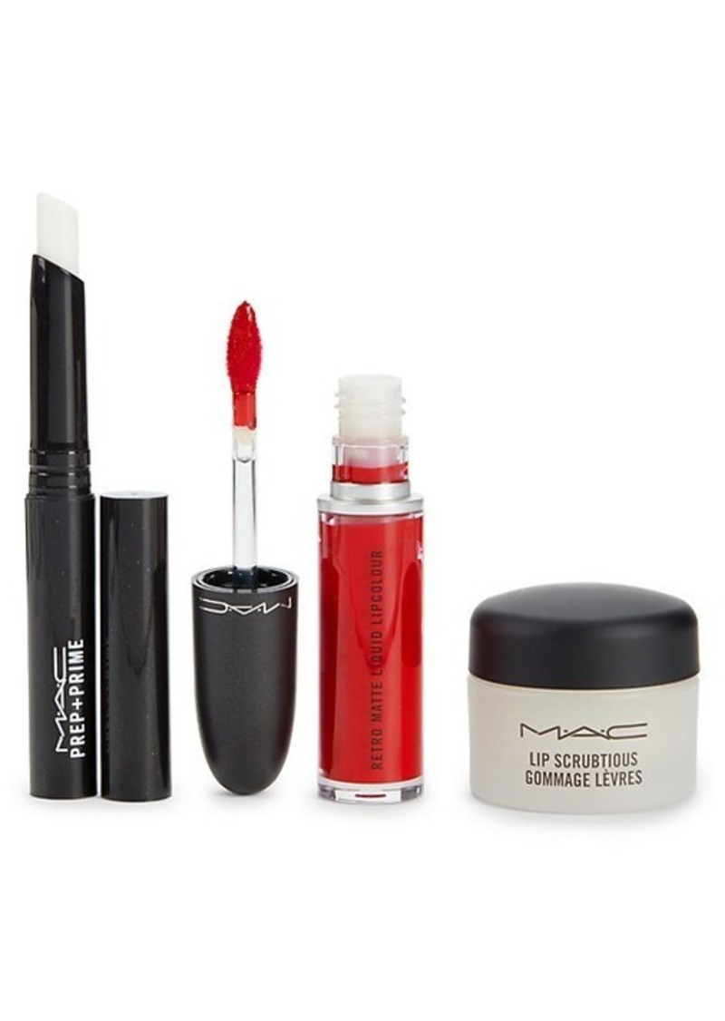 3-Piece Lip Kit Red