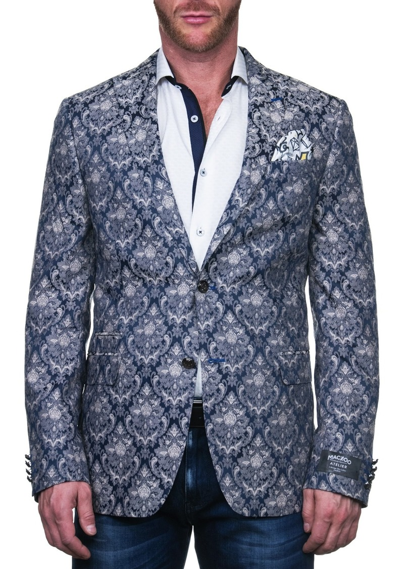 Maceoo Beethoven Kingdom Two Button Tailored Fit Suit Separate Blazer