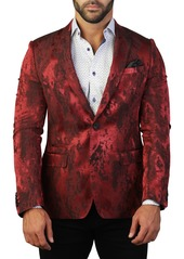 Maceoo Beethoven Shade Two Button Tailored Fit Suit Separate Blazer