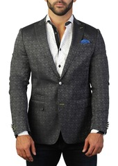 Maceoo Beethoven Skull Two Button Tailored Fit Suit Separate Blazer