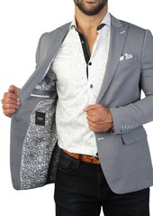 Maceoo Beethoven Snake Print Two Button Tailored Fit Suit Separate Blazer
