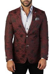 Maceoo Descartes Splash Two Button Tailored Fit Suit Separate Blazer