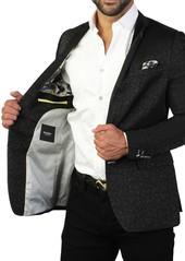Maceoo Descartes Tonal Two Button Tailored Fit Suit Separate Blazer