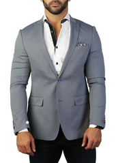 Maceoo Descartes Two Button Tailored Fit Suit Separate Blazer