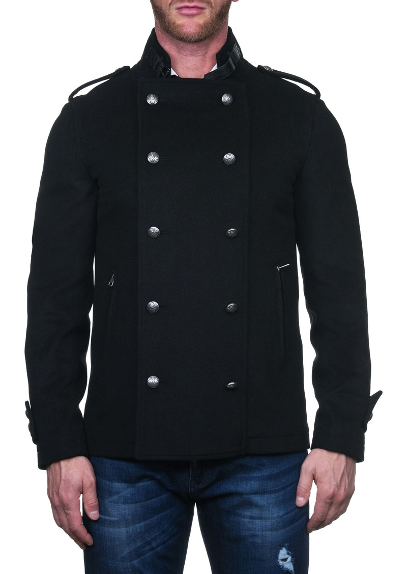 Maceoo Aristho Wool & Cashmere Peacoat