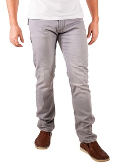 Maceoo Classic Fit Stripe Selvedge Contrast Jeans