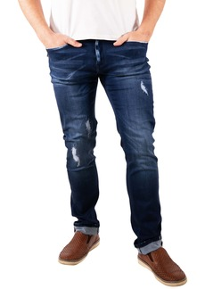 Maceoo Distressed Stretch Jeans