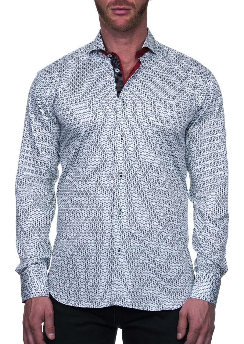 Maceoo Einstein Box Regular Fit Button-Up Shirt