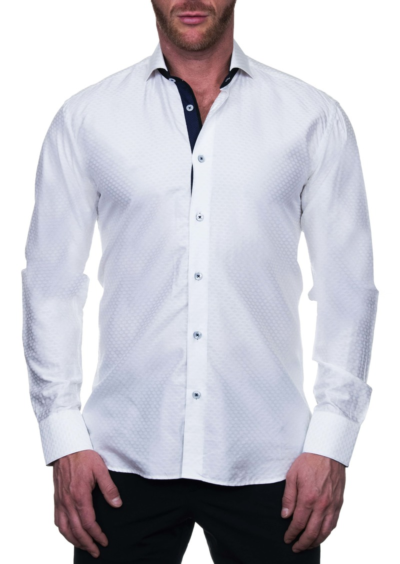 Maceoo Einstein Distinct Regular Fit Button-Up Shirt