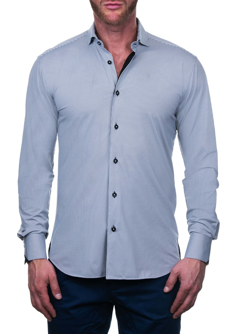 Maceoo Einstein Domino Regular Fit Button-Up Shirt