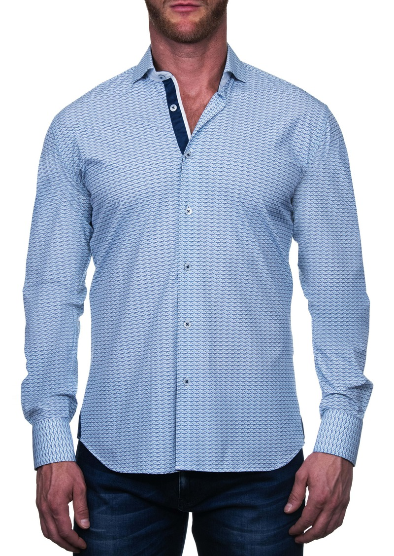 Maceoo Einstein Eiffel Regular Fit Button-Up Shirt