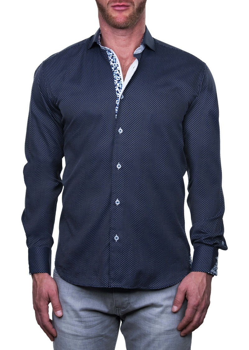 Maceoo Einstein Multisquare Regular Fit Button-Up Shirt
