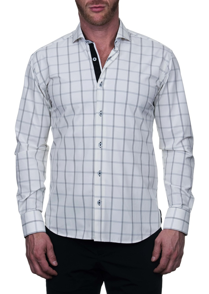 Maceoo Einstein Plaidline Regular Fit Button-Up Shirt