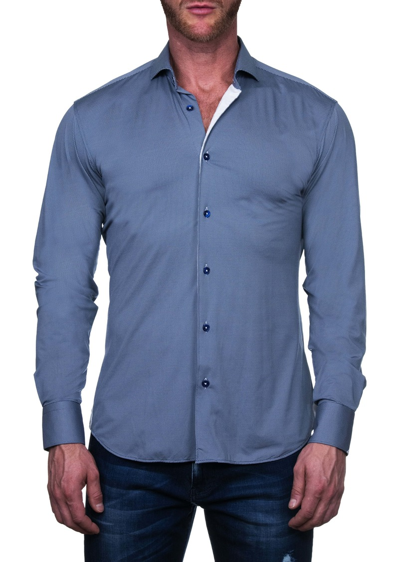 Maceoo Einstein Stacked Button-Up Shirt