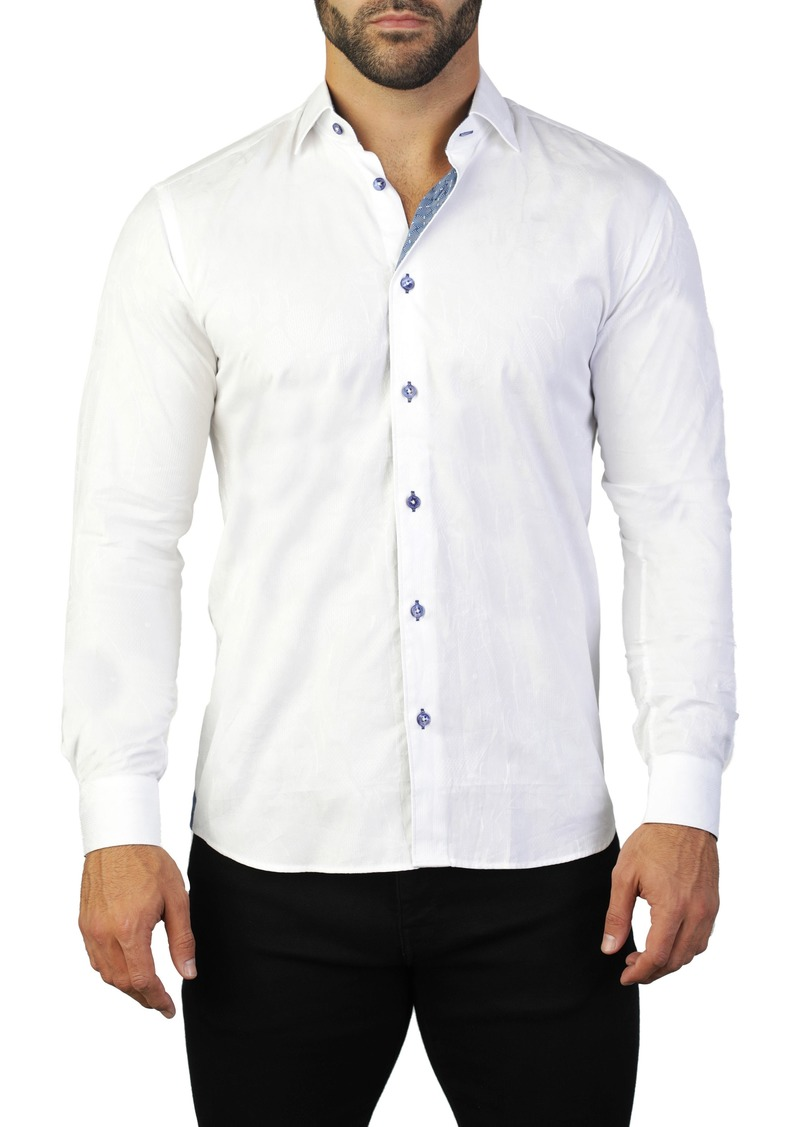 Maceoo Fibonacci Cremony Regular Fit Shirt