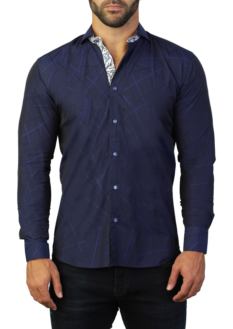 Maceoo Fibonacci Direction Regular Fit Shirt