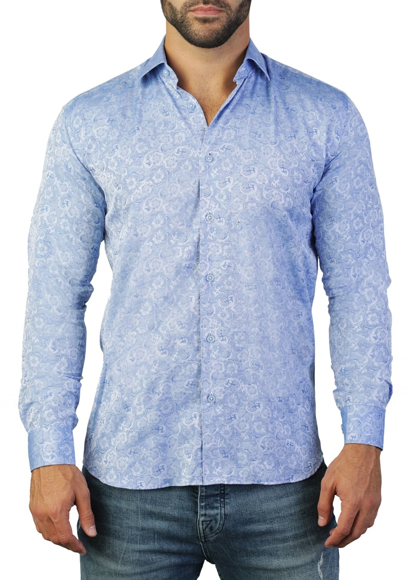Maceoo Fibonacci Instyle Regular Fit Cotton Shirt