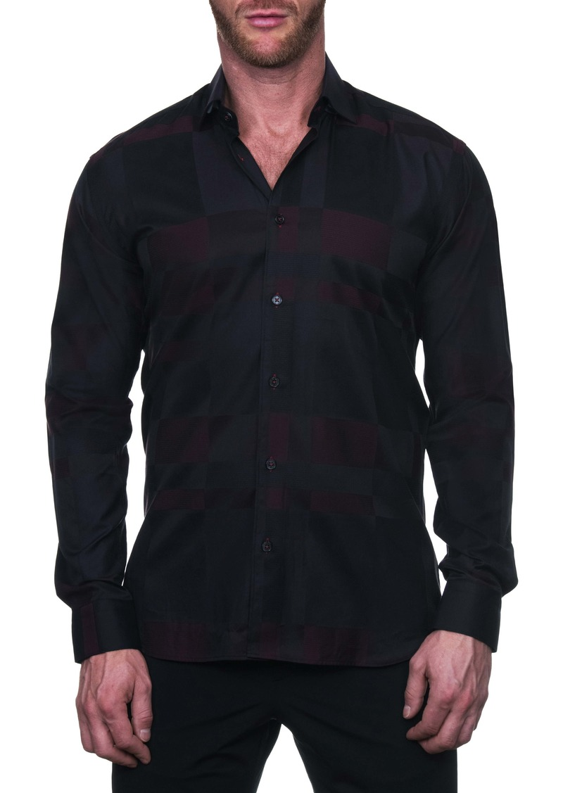 Maceoo Fibonacci Regular Fit Classy Button-Up Shirt