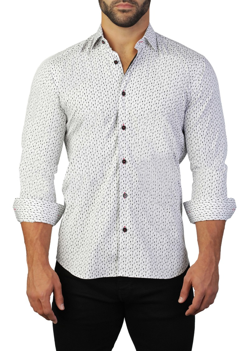 Maceoo Fibonacci Regular Fit Print Shirt