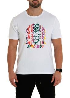 Maceoo Lion Miami Graphic Tee