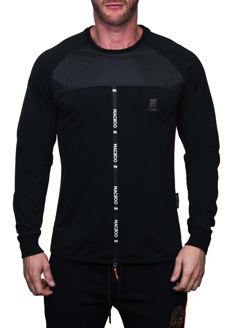 Maceoo Mixed Media Sweater